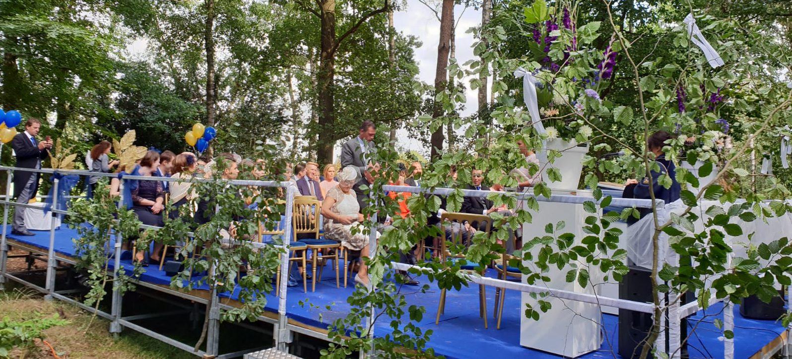 Privé events - huwelijk - Boenders Catering - bos
