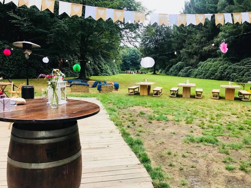 Landgoed den Vossenbosch - locaties - Boenders Catering - Festival bruiloft