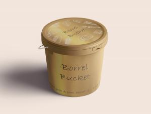 Borrel Bucket - Gold - Alternatieve kerstborrel - Wapen van Beckum - Boenders Catering